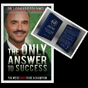 Special The Champion Package+Book The Only Answer To Success