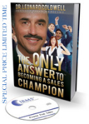 SPECIAL PRICE-Sales Champion Book+ Power For Sales CD