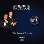 Download 2 of 3 CD'S-The Champion Package- Take Charge of Your L